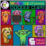 School Monsters Clip Art