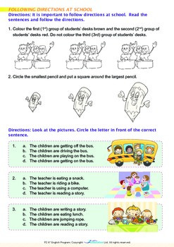 School - My Day at School - Grade 2
