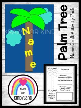 School Craft: Name Coconut Tree