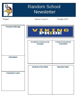 School Newsletter!
