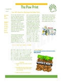 School Newspaper Bundle - four issues examples template press