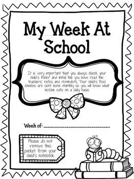 My Week At School