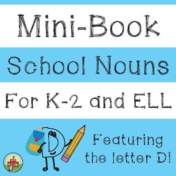 School Nouns Mini-Book