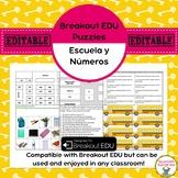 School/Numbers Breakout EDU Puzzles