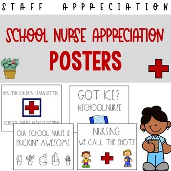 School Nurse Appreciation Posters