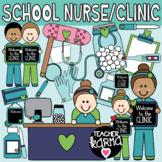 School Nurse, Clinic Clipart