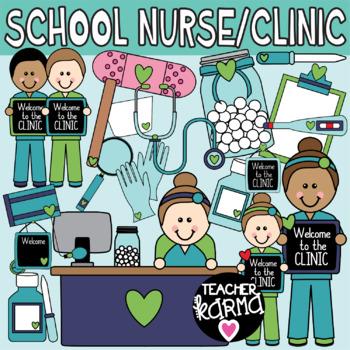 School Nurse Clinic Clipart By Teacher Karma Teachers Pay Teachers