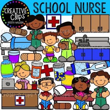 School Nurse Clipart Worksheets Teaching Resources Tpt