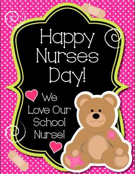 School Nurse Day Art