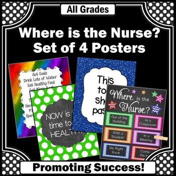 National School Nurse Appreciation Day, School Nurse Posters BUNDLE
