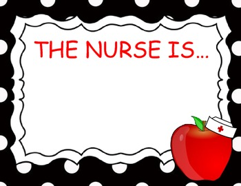 School Nurse In Out Sign By Forever In Kindergarten Tpt