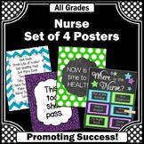Where is the School Nurse Sign Nursing Office Decor, NOT EDITABLE