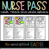 School Nurse Office Pass