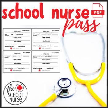 School Nurse Pass