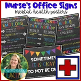 School Nurse's Office Signs and Posters | Mental Health