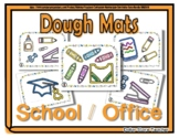 School Object Dough Mats - Perfect for Back to School
