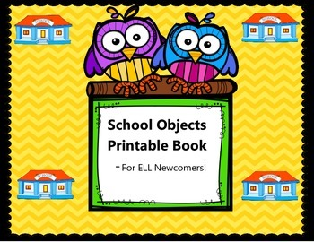School Objects Book - Completed Book