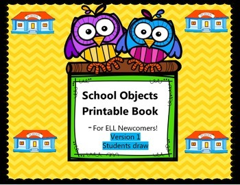 School Objects Book - Student Draw