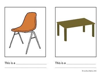 School Objects Books - Bundle