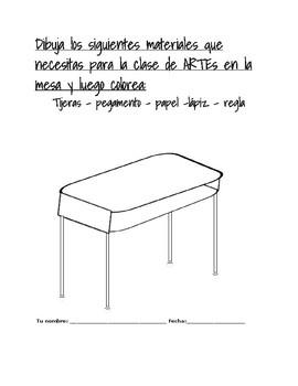 School Objects in Spanish