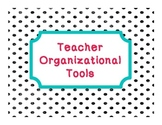 School Organizational Tools!