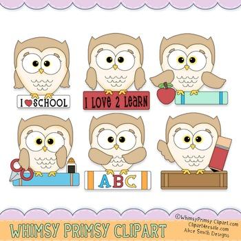 School Owl - Color 2
