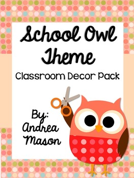 School Owl Theme