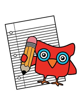 School Owls Clipart