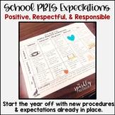 School PBIS Expectations Matrix: COVID Edition