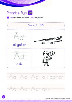 School - People at My School (I): Letter A - Kindergarten, K2 (4 years old)