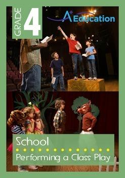 School - Performing a Class Play - Grade 4