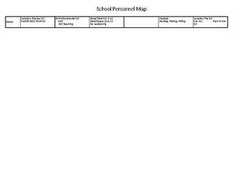 School Personnel Resource Map