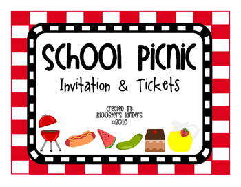 picnic invitation