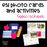 School Picture Cards (ESL, ELL, Vocabulary)