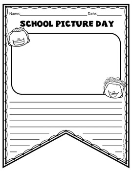 School Picture Day Activities
