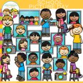 School Picture Day Clip Art {School Photographs Clip Art}