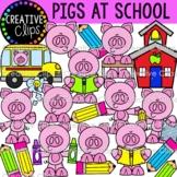 School Pigs Clipart (Creative Clips Clipart)