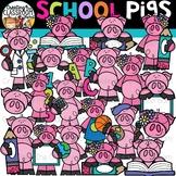 School Pigs Clipart {School Clipart}