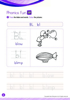 School - Places at My School (III): Blend BL - Kindergarten, K2 (4 years old)