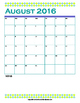 School Planner 2016 2017 Complete (Blue Green)