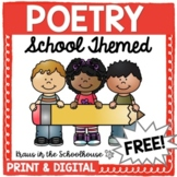 Free Poetry School Themed