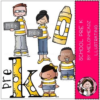School Pre K mini combo pack by Melonheadz