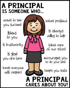 School Principal Poster [Someone Who]