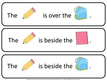 School, Pronouns and Prepositions, Oh My!