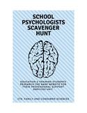 School Psychologists Scavenger Hunt
