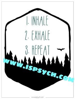 School Psychology Quote Office Printable Bundle