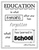 School Quotes Inspirational Writing