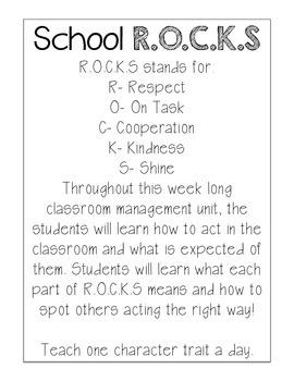 School R.O.C.K.S FREEBIE