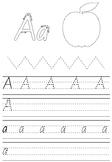 School Readiness Alphabet Activity Book