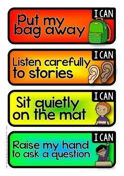 School Readiness Display Labels